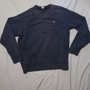 Nike Sweatshirt Navy Blue with Embroidered logo
